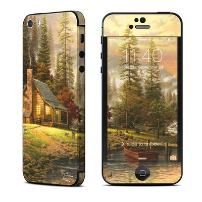 Apple iPhone 5 Skin - A Peaceful Retreat