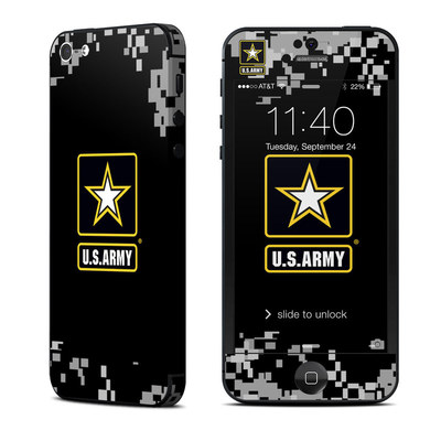 Apple iPhone 5 Skin - Army Pride
