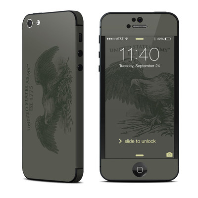 Apple iPhone 5 Skin - Army Crest