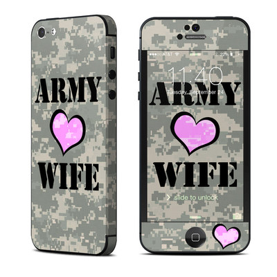 Apple iPhone 5 Skin - Army Wife