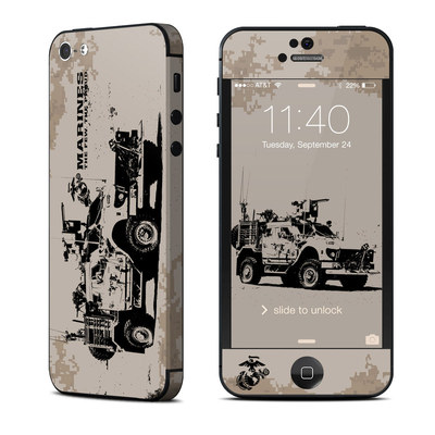 Apple iPhone 5 Skin - Artillery