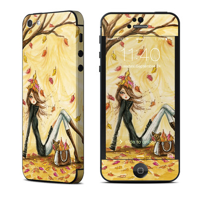 Apple iPhone 5 Skin - Autumn Leaves