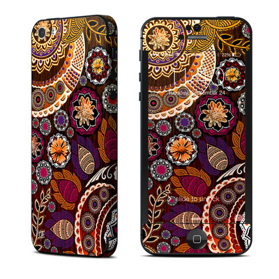 Apple iPhone 5 Skin - Autumn Mehndi
