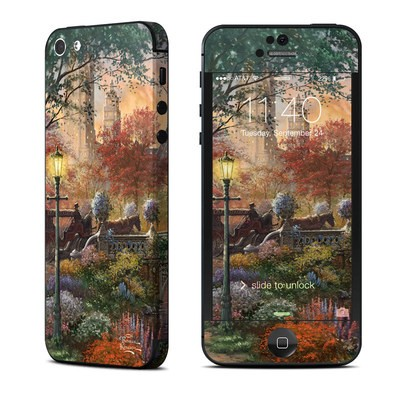 Apple iPhone 5 Skin - Autumn in New York
