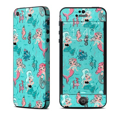Apple iPhone 5 Skin - Babydoll Mermaids