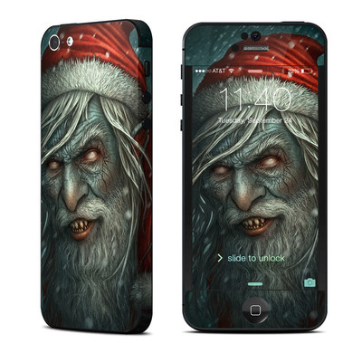 Apple iPhone 5 Skin - Bad Santa
