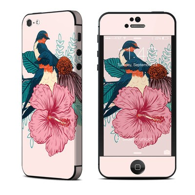 Apple iPhone 5 Skin - Barn Swallows