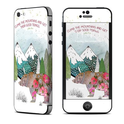 Apple iPhone 5 Skin - Bear Mountain