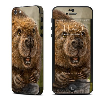 Apple iPhone 5 Skin - Beaver Totem