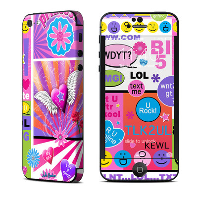 Apple iPhone 5 Skin - BFF Girl Talk
