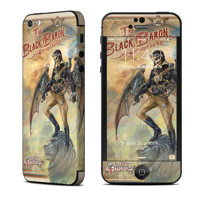 Apple iPhone 5 Skin - The Black Baron