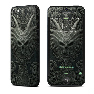 Apple iPhone 5 Skin - Black Book