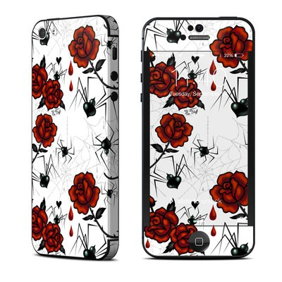 Apple iPhone 5 Skin - Black Widows