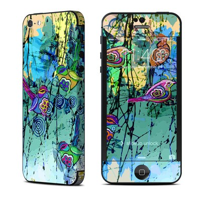 Apple iPhone 5 Skin - Blue Evening