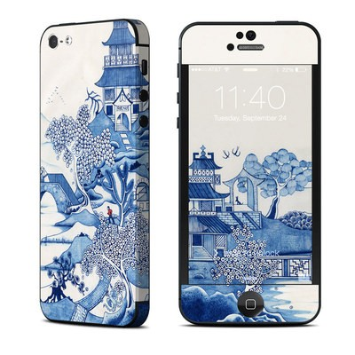 Apple iPhone 5 Skin - Blue Willow