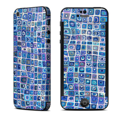 Apple iPhone 5 Skin - Blue Monday