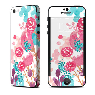 Apple iPhone 5 Skin - Blush Blossoms