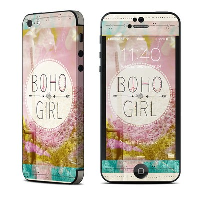 Apple iPhone 5 Skin - Boho Girl