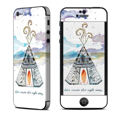 Apple iPhone 5 Skin - Boho Teepee