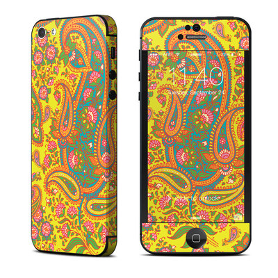 Apple iPhone 5 Skin - Bombay Chartreuse