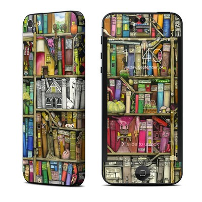 Apple iPhone 5 Skin - Bookshelf
