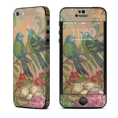 Apple iPhone 5 Skin - Splendid Botanical