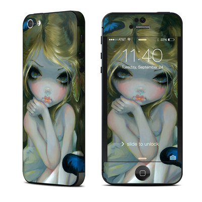 Apple iPhone 5 Skin - Butterfly Lily