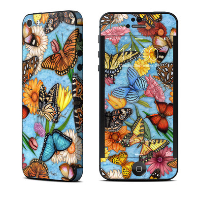 Apple iPhone 5 Skin - Butterfly Land