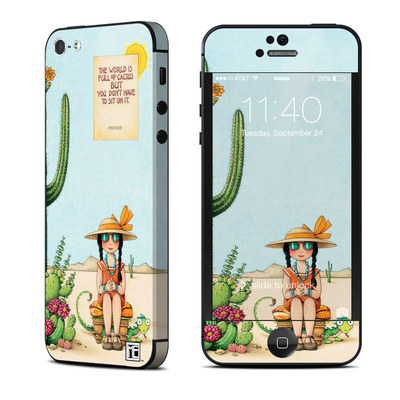 Apple iPhone 5 Skin - Cactus