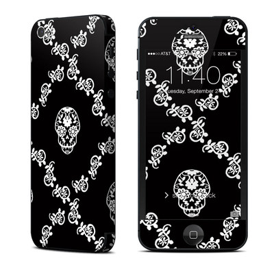 Apple iPhone 5 Skin - Calavera Lattice