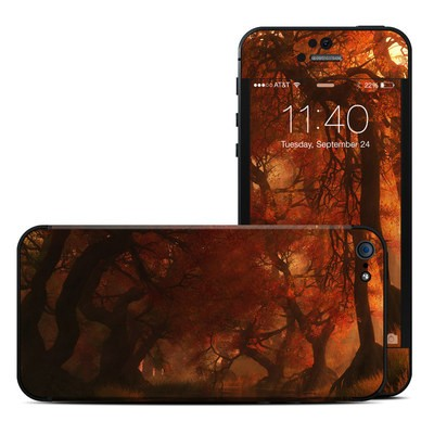 Apple iPhone 5 Skin - Canopy Creek Autumn