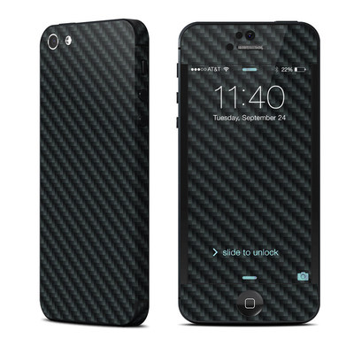 Apple iPhone 5 Skin - Carbon