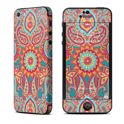 Apple iPhone 5 Skin - Carnival Paisley