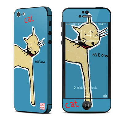 Apple iPhone 5 Skin - Cat