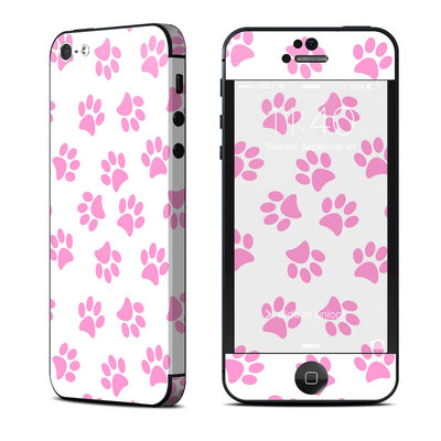 Apple iPhone 5 Skin - Cat Paws