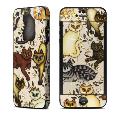Apple iPhone 5 Skin - Cats