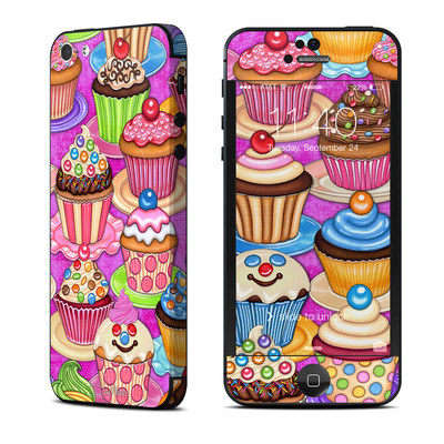 Apple iPhone 5 Skin - Cupcake