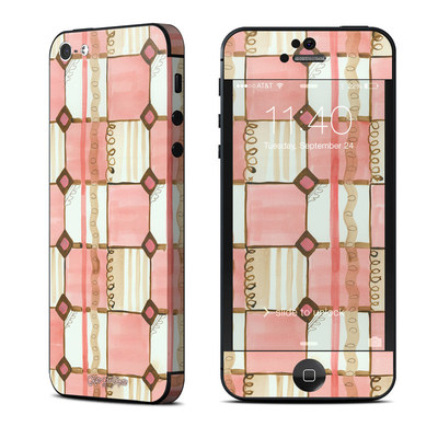 Apple iPhone 5 Skin - Chic Check