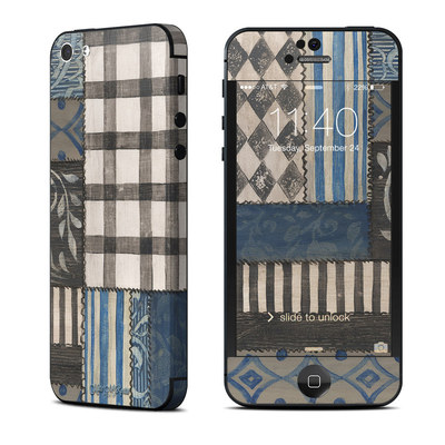 Apple iPhone 5 Skin - Country Chic Blue