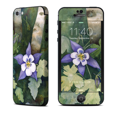 Apple iPhone 5 Skin - Colorado Columbines