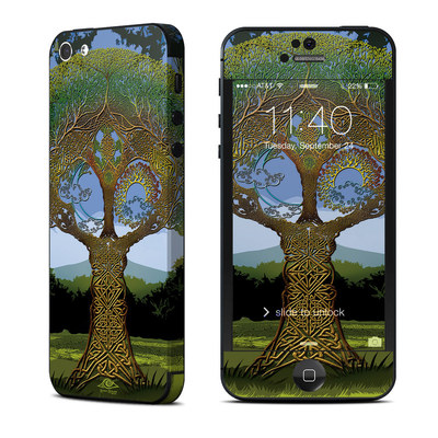 Apple iPhone 5 Skin - Celtic Tree
