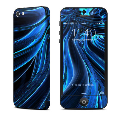 Apple iPhone 5 Skin - Cerulean
