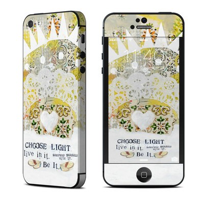 Apple iPhone 5 Skin - Choose Light