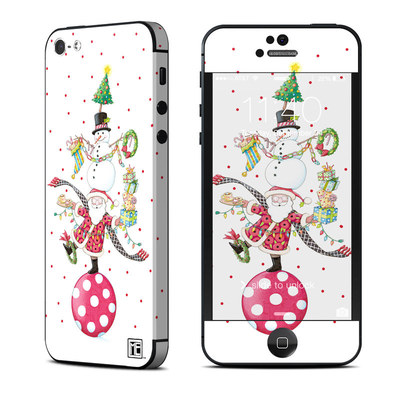 Apple iPhone 5 Skin - Christmas Circus