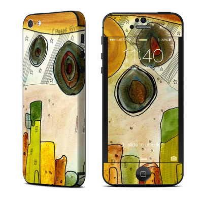 Apple iPhone 5 Skin - City Life