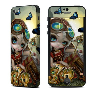 Apple iPhone 5 Skin - Clockwork Dragonling