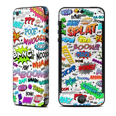 Apple iPhone 5 Skin - Comics