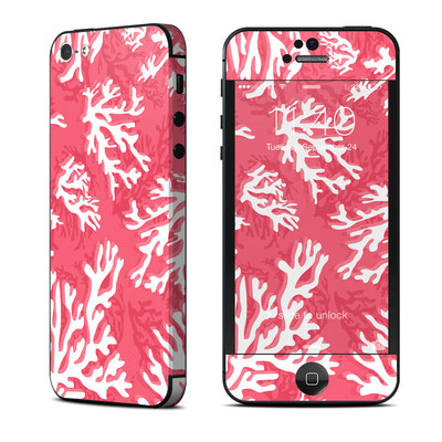 Apple iPhone 5 Skin - Coral Reef