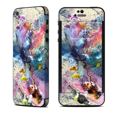 Apple iPhone 5 Skin - Cosmic Flower