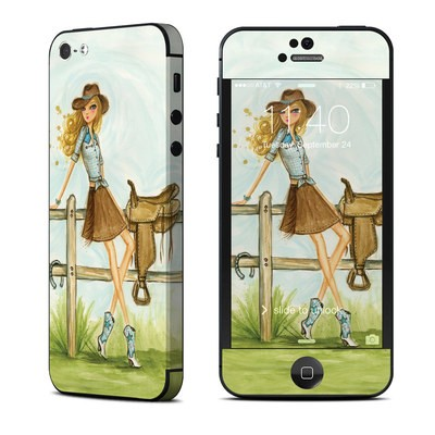 Apple iPhone 5 Skin - Cowgirl Glam